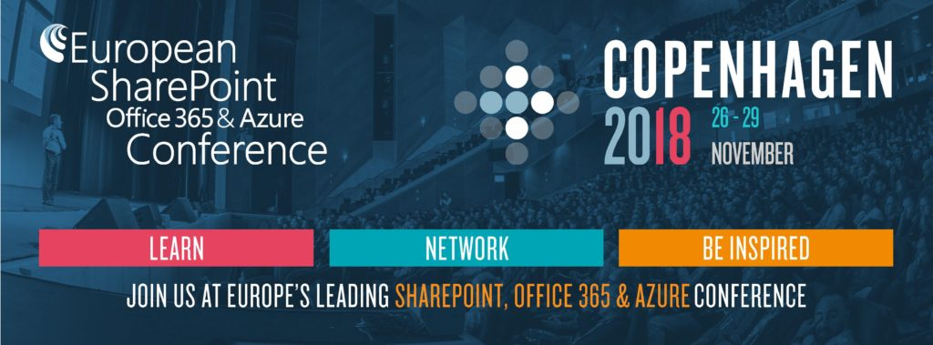European SharePoint, Office 365 and Azure Conference