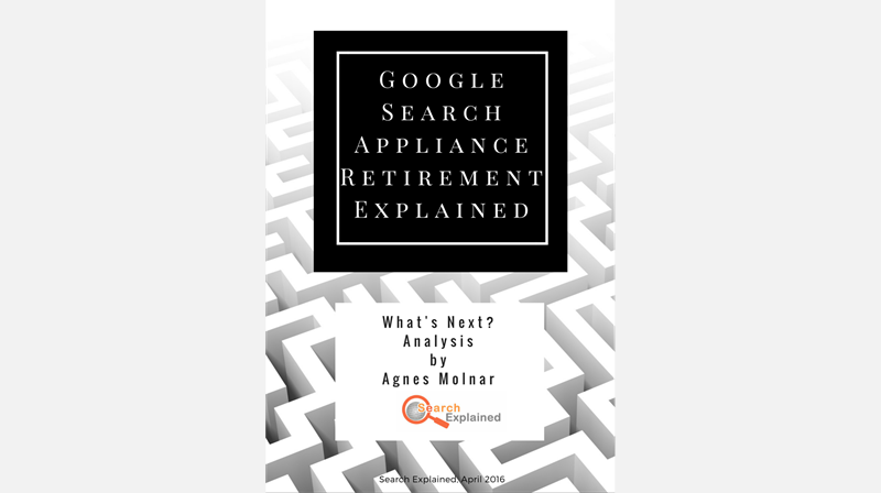 Google Search Appliance Retirement e-book
