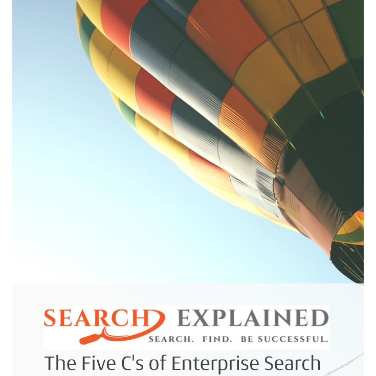 New e-book: The Five C's of Enterprise Search