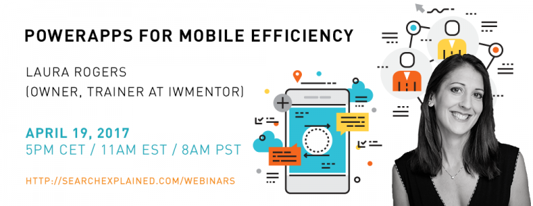 Webinar with Laura Rogers