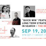 """QUICK WIN"" FEATURES VS. LONG TERM STRATEGY IN SEARCH – THE DEBATE"