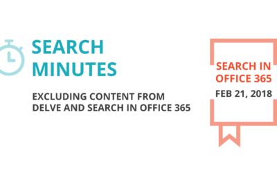 [Search Minutes] Exclude Content from Search and Delve