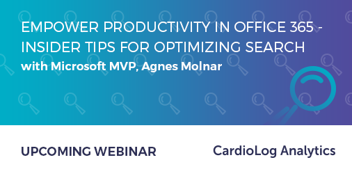 Webinar today: Empower Productivity in Office 365 – Insider Tips for Optimizing Search