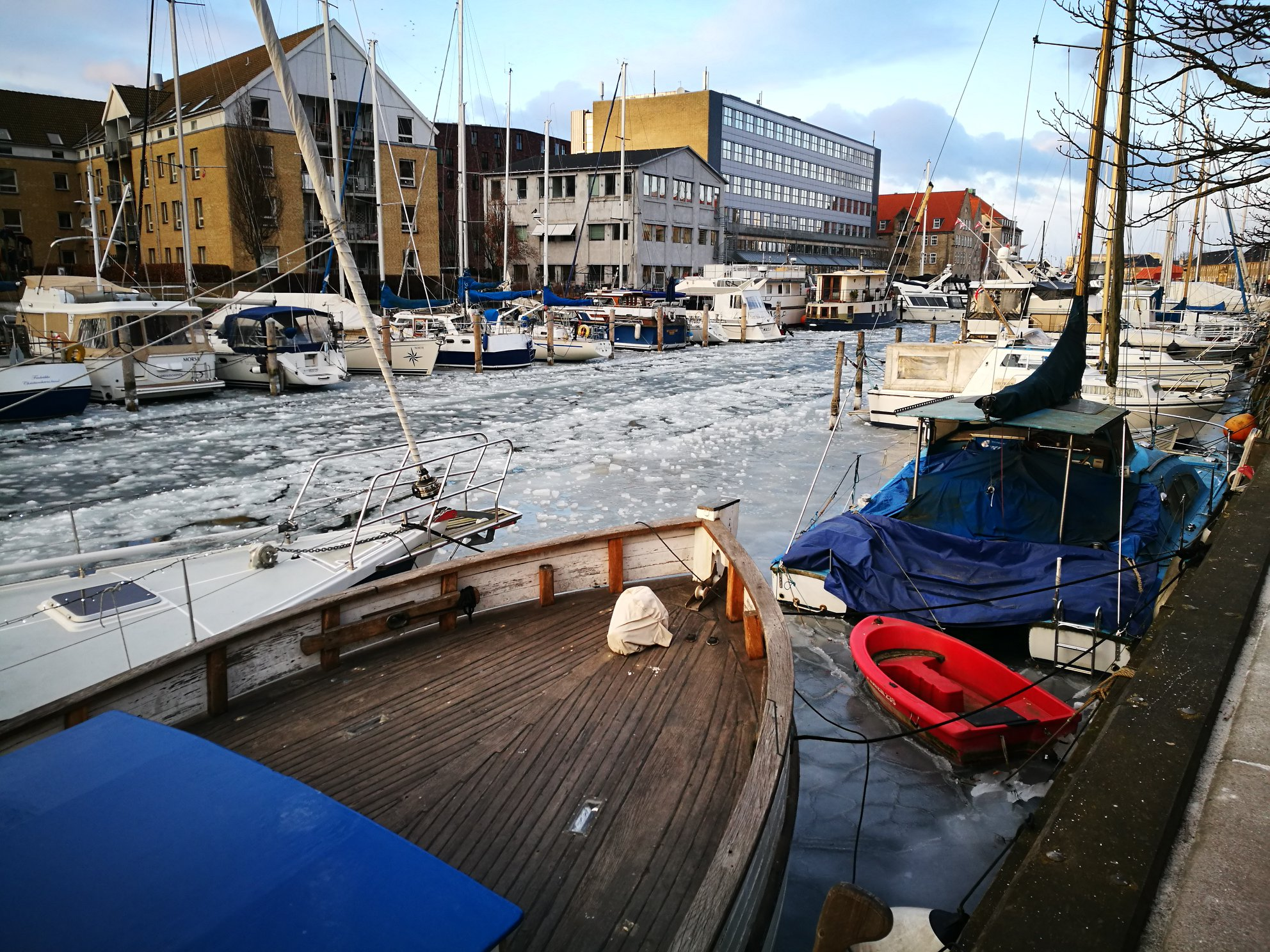 Copenhagen by winter