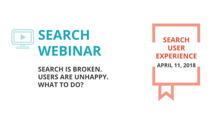2018 April 11 Search Webinar
