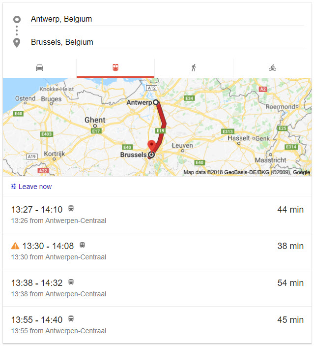 google-search-train-schedule