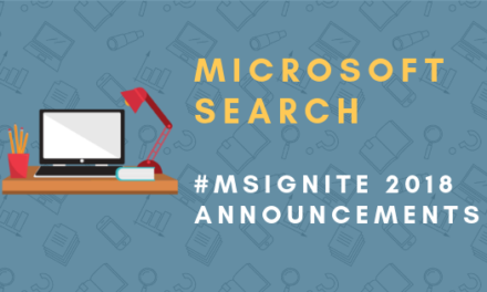 Microsoft Search: Next Level of Office 365 Search Announced at Microsoft Ignite