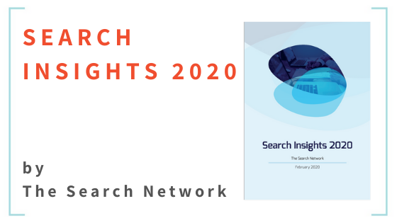 Search Insights 2020 - by The Search Network